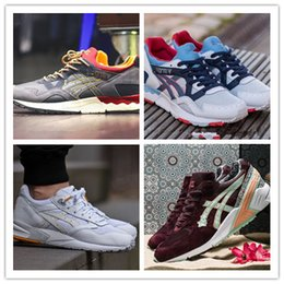 Wholesale Red Lighting Gels - hot sale 2017 NEW High Quality 2018 hot sale GEL-Lyte III 3 5 Running Shoes Men Top Quality Cushioning Original Stability Basketball Shoes