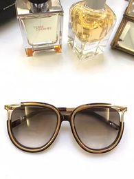 2019 ce occhiali da sole Donna CE688S havana / occhiali da sole marrone sfumato Occhiali da sole firmati Cat Eye CE 688S Nuovo di zecca con scatola ce occhiali da sole economici