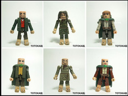 Wholesale Toy Lord Rings - The lord of the ring hobbit 16pcs hand done model kids gift classic toy action figure