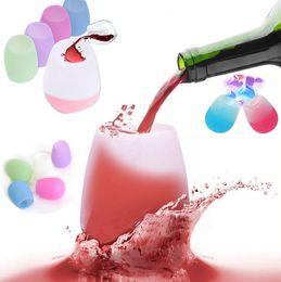 Silikon Şarap Gözlük Kırılmaz Stemless Kauçuk Bira Kupa Açık Bardak Şarap Cam Geri Dönüşümlü Içme Bardak I088 nereden