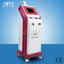 Wholesale Laser Hair Removal For Face - Free shipping 500.000 Shots Lamp Longevity ipl shr hair laser removal for Acne Treatment Anti-puffiness Hair Removal