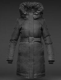 Wholesale Ladies Leather Jackets Sale - 2017 Hot Sale Luxury Women's Astrid Ladies Parka down Jacket Hoodies Fur Fashionable Winter Coats Warm Parka Free Shopping Top Quality