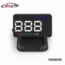 antena de rádio do carro plug Desconto RASTP-universal carro hud gps velocímetro cabeça para cima exibição brisa digital velocidade do carro projetor alarme de velocidade excessiva para todos os carros rs-hud008