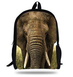 Wholesale Mochila Zoo - 16-inch Zoo Elephant Animal Backpack Children Girls Animal Bag Kids Boy School Bags For Teenagers Mochila Infantil Menina