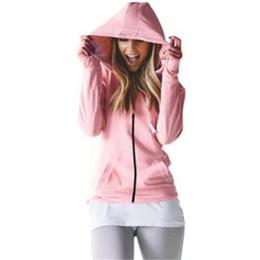Wholesale waterproof coats plus size women - Autumn Coat Women Hooded Jacket 2017 Winter Thin Long Sleeve Waterproof Casual Outcoat Outwear Plus Size Solid Pink Gray Black
