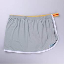 Wholesale Seamless Pouch Underwear - New mens underwear boxers Brand Seamless men's underwear sexy low rise cueca boxer men Slip One-piece Sexy Home penis pouch Gay Underpants