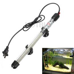 aquarium externe Promotion Réglable 25 W 50 W 100 W 200 W 300 W Submersible Aquarium Thermostat Chauffe-Eau Chauffe-Eau Tropical Aquarium Fish Tank # 4353