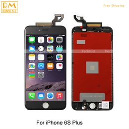 Wholesale P Test - Tested Wholesale For iPhone 6S Plus 6S P 5.5 inch LCD Display Touch Screen Digitizer Assembly Touch Panels Glass Replacement Part Grade A