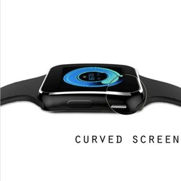 Wholesale Mobile Home Screens - X6 Smartwatch Curved Screen Smart watchphone bracelet Support SIM TF Card Slot with Camera For Samsung LG Sony All Android Mobile Phone