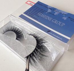 Wholesale Wholesale Professional Mink Eyelashes - Beauty 3D strip mink False Eyelashes Thick Mink Fur Eyelashes Pairs Professional Makeup Handmade Eyelash Extension
