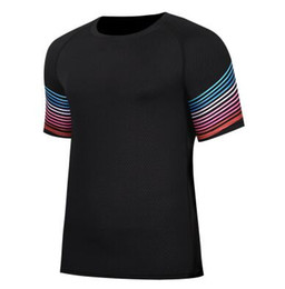 Wholesale Fasting Fitness - Fitness sportswear men tight running uniforms fast training basketball clothing streamer short - sleeved fitness clothes