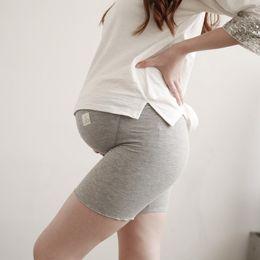 Wholesale Maternity Short Leggings - 2017 Maternity Pants Fashion Maternity Leggings 4 Colors Pants Of Pregnant Women Pregnancy Motherhood Casual Dress Maternity Clothes