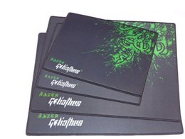 Wholesale Razer Game Mouse - Hot Razer Mouse 2100x260x2mm Locking Edge Gaming Mouse Pad Gamer Game Anime Mousepad mat Speed Version for Razer Adder in retail package
