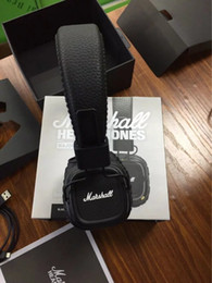 Wholesale Headphones Wireless For Dj - Marshall Major II 2.0 Wireless Headphones DJ Studio Bluetooth Headphone Deep Bass Noise Isolating Bluetooth headset for iphone Samsung