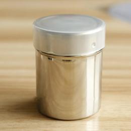 Paslanmaz çelik toz elekleri Toz eleme depolama tankı elek kapaklı teneke kutular Pişirme ve kahve filtre sepetleri cheap metal storage baskets nereden metal saklama sepetleri tedarikçiler