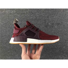 Wholesale Li Ning Sneakers - free shopping 2017 NMD Runner Primeknit XR1 Fall Olive Fashion Sneakers kids shoes Youth Sports NMD XR1 Running Shoes Size US Size us 36-45