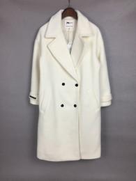 Wholesale Poplin Cloth - Long Inclined Pocket Han Edition Autumn And Winter Coat Lapel Wool Woolen Cloth Coat