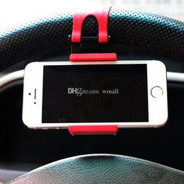 DHL Araba Direksiyon cep telefonu halka tutucu Klip Araba Bisiklet Montaj Standı iphone samsung Telefon için Esnek Cradle tutucu GPS Noel hediyeler nereden