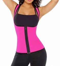 Wholesale Womens Shapers - Wholesale- Sexy Womens Neoprene Body Shape Slimming Waist Slim Shapers