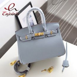 Wholesale Interior Design Yellow - Wholesale-Classic Hollywood fashion design candy color leather ladies handbag lock mini real leather shoulder bag flap messenger bag
