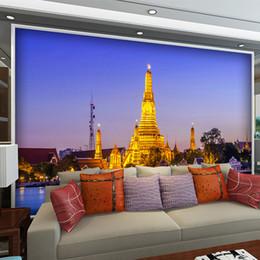 Пользовательские 3D фото обои Европейская классическая архитектура Эйфелева башня стены фрески гостиная фон декор обои от Поставщики фон с эйфелевой башней