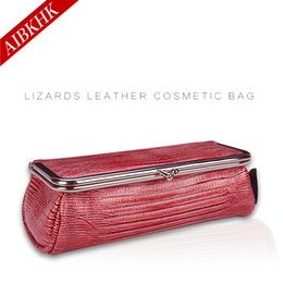 Wholesale Travel Brush Mirror - Women Cosmetic Bag Brand Lady Make Up Bag With A Mirror Portable Small Travel Makeup Brush Organizer Cosmetics Storage Pouch Bag