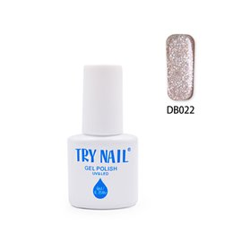 Wholesale Nail Varnish Cheap - Wholesale- TRY NAIL New Arrival Promotion Top Quality Soak Off Gel Varnishes Brown Pink Gorgeous Color Cheap Nail Gel Polish(DB001~DB030)