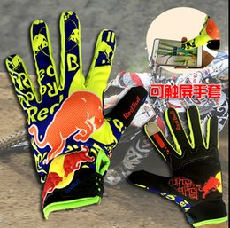 Wholesale Wholesale Bike Gloves - Wholesale- 2016 New Motorcycle Motorbike Bike Cycling Motocross Gloves Racing Offroad MTB ATV GEL MX Bicycle Gloves