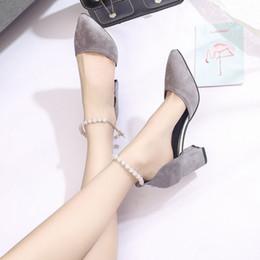 Canada 8cm hauts talons en daim chaussures en cuir mariage chaussures de mariée noir chasseur vert gris couleur pompes givrées chaussures de mariée Offre
