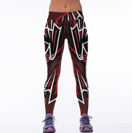 Wholesale Stretch Leggings For Women - New Style High Stretch Yoga Pants Leggings For Women Mesh Splicing Design Running Pants Fitness Gym Sports Pants