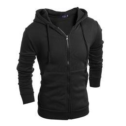 Wholesale Up Collar Suit Jackets - Wholesale-NEW Fashion Men Hoodies Brand Suit High Quality Men Sweatshirt Hoodie Casual Zipper Hooded Jackets Male M-XXL