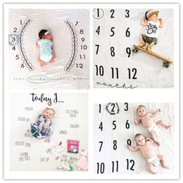 Wholesale Mat Cloth - 2017 newborn photography background props baby photo prop fabric backdrops infant blankets wrap 100% cotton soft blanket ins cloth mat