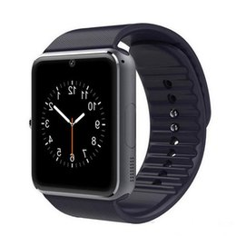 Wholesale Wholesale Sale Smart Watch - GT08 Bluetooth Smart Watch with SIM Card Slot and NFC Health Watch for Android Samsung and iphone Smartphone Bracelet Smartwatch hot sale