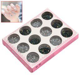 Cheap nail art discs free shipping nail art discs under 100 cheap nail art discs hot sale 12 mix color glitter sequin discs prinsesfo Images