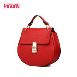 Wholesale Wholesale Plain Phone Covers - Wholesale- Women messenger bags chain Brand leather shoulder bags 2016 luxury handbags women bags designer famous brand high quality