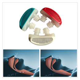Wholesale Health Air - 2017 High Quality Snoring Cessation Stop Snoring Nose Breathing Apparatus Air Purifier Stop Grinding Relieve Snoring Health Sleep Care Tools