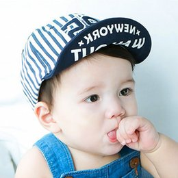 Wholesale Red Monkey Hats Wholesale - New 2017 fashion Baby boy girl Ball Caps Cartoon monkey embroidery cute Baby hat child baby accessories