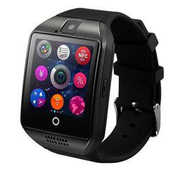 Wholesale Korean Wristwatches - Q18 Plus Android OS Smart Watch Phone 3G GPS WiFi Wristwatch HD Camera Video Smartwatch Bluetooth Clock Whatsapp Skype