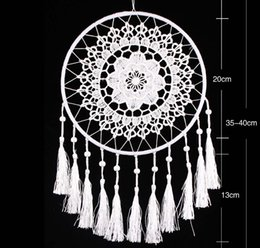 Wholesale Ornament House - hot sale Dream Catcher Handmade wall Hanging house Decoration Craft decor Antique Imitation Enchanted Forest Dreamcatcher Room Ornament DC04