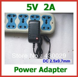 Wholesale Pipo 3g Tablet - Wholesale- 10pcs Free Shipping 5V 2A 2.5mm Power Adapter Charger EU US for Tablet PC Pipo M5(3G) S1 S2 S3 U1 U1pro U2 U3 High Quality