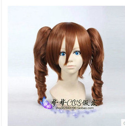 Wholesale Brown Clip Cosplay Wig - Free Shipping Heat Resistant >>Momo Belia Deviluke Anya Alstreim Brown Cosplay Party Wig Hair Clip Ponytail