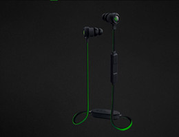 Wholesale Headphone V2 - Razer Hammerhead V2 BT Headphones Wireless in ear earphones With Microphone With Retail Box In Ear Gaming headsets Noise cancel Stereo Bass
