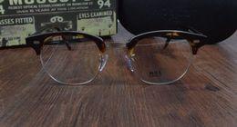 Wholesale Hot Johnny - HOT SALE-2017 New arrived retro vintage brand Mos YUKEL johnny depp prescription glasses optical eyeglasses spectacle frame men eyewear