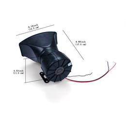 Wholesale Loud 12v Siren - Car Electronic 12V 100W Loud Siren Horn Loudspeaker 4 Sound Tone for Car Vehicle