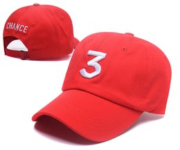 ball red book Australia - 2017 Chance 3 the rapper caps Streetwear kanye west dad cap letter Baseball Cap coloring Book 6 panel god men women hats