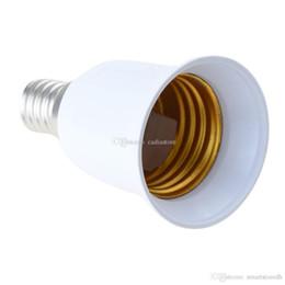 Canada 1 PC E14 à E27 Base Vis LED Lampe Ampoule titulaire Adaptateur Prise De Prise Convertisseur E00167 ONET Offre
