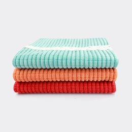 Wholesale Baby Fall Cloth - Corn double absorbent towel does not fall off the hair does not touch the oil cloth cloth washing cloth kitchen towel