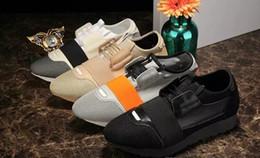 Nuevos corredores de carrera 2017ss Perfect quatily Mens Trainers cordones zapatos casuales con caja original y bolsa de polvo envío gratis de gran tamaño desde fabricantes