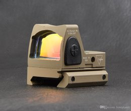 Wholesale Mount For Glock - Hunting shooting Trijicon rmr style 1x red dot sight scope for picatinny rail and glock base mount Key switch 6 MOA DE M6327