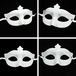 Wholesale Pvc Mask Animal - Half Face Facial Sheet Mask Cosplay Mask Facial Mask For Halloween  Masquerade  Costume Party Black White Masquerade Masks